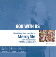 God With Us, Accompaniment CD   -              By: MercyMe