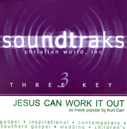 Jesus Can Work It Out, Accompaniment CD   -     By: Kurt Carr