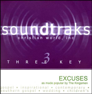 Excuses, Accompaniment CD   -     By: The Kingsmen
