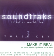 Make It Real, Accompaniment CD   -              By: The Gaithers