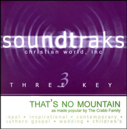 That's No Mountain, Accompaniment CD   -     By: The Crabb Family