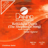 Bethlehem Dawn (The Shepherd's Song), Accompaniment CD   -              By: Todd Agnew