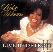 Live In Detroit II CD   -     By: Vickie Winans