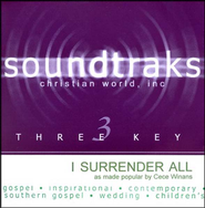 I Surrender All, Accompaniment CD   -     By: CeCe Winans