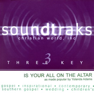 Is Your All On The Altar? Accompaniment CD   -     By: Yolanda Adams