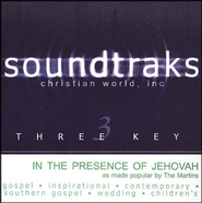In The Presence Of Jehovah, Accompaniment CD   -              By: The Martins