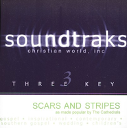 Scars And Stripes, Accompaniment CD   -              By: The Cathedrals