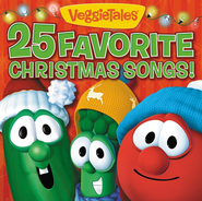 VeggieTales 25 Favorite Christmas Songs! CD   -
