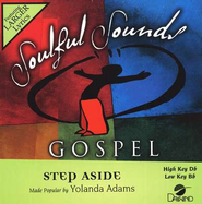 Step Aside, Accompaniment CD   -     By: Yolanda Adams