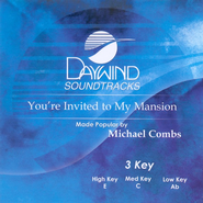 You're Invited To My Mansion, Accompaniment CD   -     By: Michael Combs