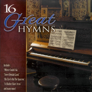 16 Great Hymns CD   -