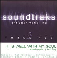 It Is Well With My Soul, Accompaniment CD   -              By: Sandi Patty