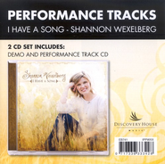 I Have A Song, CD Trax   -     By: Shannon Wexelberg