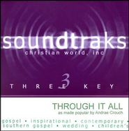 Through It All, Accompaniment CD   -     By: Andrae Crouch