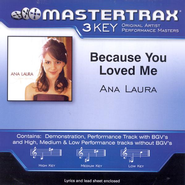 Because You Loved Me, Accompaniment CD   -     By: Ana Laura