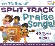 My Big Box of Split-Track Praise Songs!   -     By: Wonder Kids