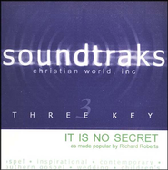 It Is No Secret, Accompaniment CD   -     By: Richard Roberts
