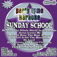 Party Tyme Karaoke: Sunday School (8+8 Track Version) CD   -