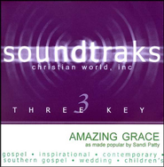 Amazing Grace, Accompaniment CD   -     By: Sandi Patty