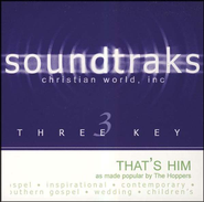 That's Him, Accompaniment CD   -     By: The Hoppers