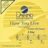 How You Live, Accompaniment CD   -              By: Point of Grace