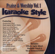 Praise & Worship, Volume 1, Karaoke Style CD   -