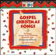 Gospel Christmas Songs, Compact Disc [CD]   -     By: Cedarmont Kids