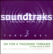 Oh For A Thousand Tongues, Accompaniment CD   -     By: The Nelons
