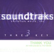 Thank You, Accompaniment CD   -     By: The Katinas