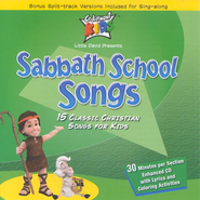 Sabbath School Songs CD   -     By: Cedarmont Kids