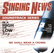 We Shall Wear A Crown, Accompaniment CD   -              By: Daryl Williams Trio