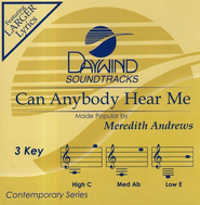 Can Anybody Hear Me, Accompaniment CD   -     By: Meredith Andrews