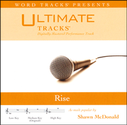 Rise (Low Key Performance Track w/ Background Vocals)  [Music Download] -