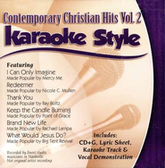 Contemporary Christian Hits, Volume 2 Karaoke CD  -