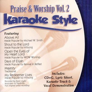 Praise & Worship, Volume 2, Karaoke Style CD   -