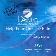 Help Pour Out The Rain, Accompaniment CD   -     By: Buddy Jewell