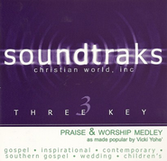 Praise & Worship Medley Acc, CD  -     By: Vicki Yohe