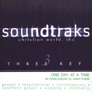 One Day At A Time, Accompaniment CD   -     By: Jason Crabb