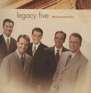 Monuments CD   -     By: Legacy Five