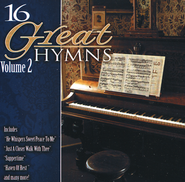 16 Great Hymns, Volume 2 Compact Disc [CD]   -