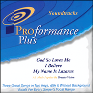 God So Loves Me/I Believe/My Name Is Lazarus   -              By: Greater Vision