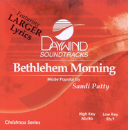 Bethlehem Morning, Accompaniment CD   -     By: Sandi Patty