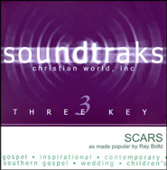 Scars, Accompaniment CD   -     By: Ray Boltz