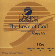 The Love Of God, Accompaniment CD   -              By: MercyMe