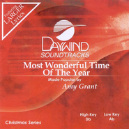 Most Wonderful Time Of The Year, Accompaniment CD   -     By: Amy Grant