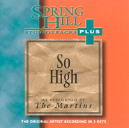 So High, Accompaniment CD   -     By: The Martins