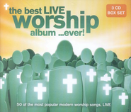 The Best Live Worship Album... Ever! 3 CD Set   -