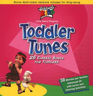 Toddler Tunes, Compact Disc [CD]   -     By: Cedarmont Kids