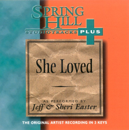 She Loved, Accompaniment CD   -     By: Sheri Easter