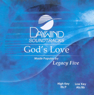 God's Love, Accompaniment CD   -              By: Legacy Five